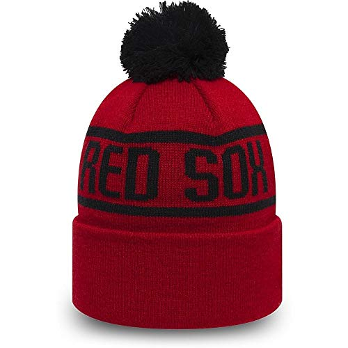 New Era MLB Boston Red Sox Essential Kids Bobble Knit