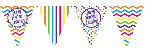 Sorry You're Leaving Bunting