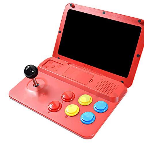 25,65 cm/10,1 pulgadas pantalla grande Arcade jugador de juego portátil sistema de juego plegable Arcade consola clásica de alta definición retro arcade con palanca de mando extraíble