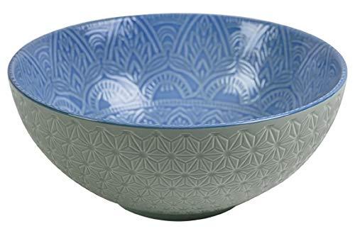 Ensaladera Porcelana Azul Marca Villa d'Este Home Tivoli