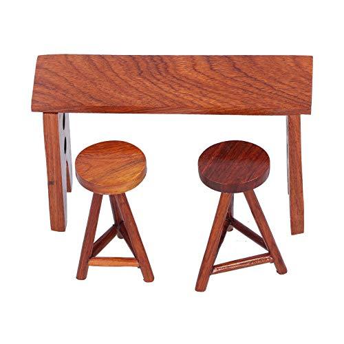 ミニチュアテーブル、絶妙なミニハウスアクセサリー、子供用ミニチュアエレガント