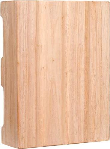 "Craftmade CH2401-UO Designer Hand-Hewn Door Chime, Unfinished Oak (8.5""H x 5.25""W)"