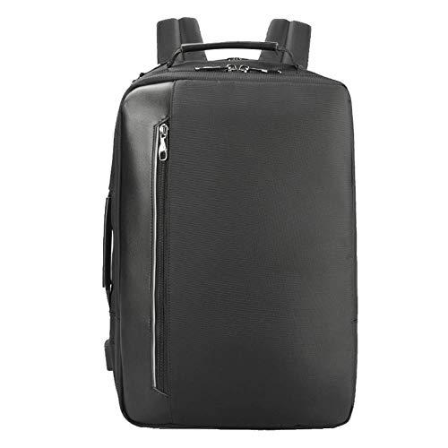 Mochila para computadora portátil de viaje, mochila de viaje multifuncional, puerto de carga USB, mochila de viaje unisex informal para negocios al aire libre, camping, mochila de equipaje de mano Pa