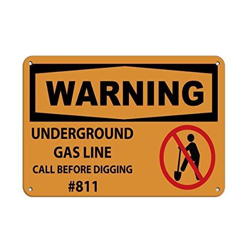 Yilooom waarschuwing bewegende poort kan leiden tot ernstige letsel of dood aluminium metalen teken 9 in X 12 in aangepaste waarschuwing & veiligheid teken voorgeboorde gaten voor eenvoudige montage