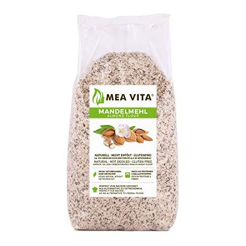 MeaVita Mandelmehl, naturell, Premium Qualität, im Beutel, 1er Pack (1 x 1 kg)