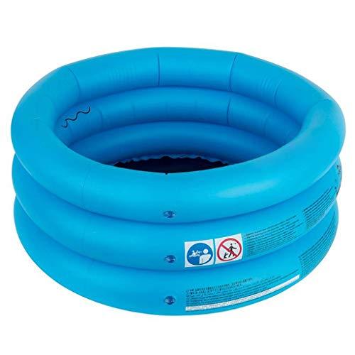 SFSGH Piscina sobre el Suelo Inflable Portátil Piscina para niños Piscina de baño Viajes (diámetro 70 CM) (Color: Azul)