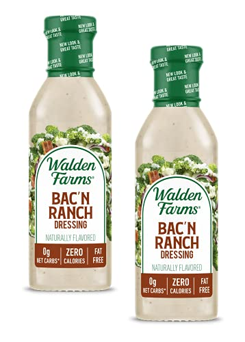 Walden Farms Calorie Free Dressing Bacon Ranch -- 12 fl oz - 2 pc