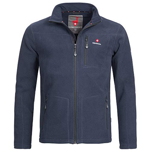 Höhenhorn Triglav Herren Fleece Jacke Full Zip Navy Gr. XL
