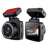 2021 Upgrade Dual Lens Dashcam, 1296P Super Clear Autokamera, 160 ° Weitwinkel-Fahrrekorder mit Super Nachtsicht,Loop Aufnahme, G-Sensor, Parküberwachung
