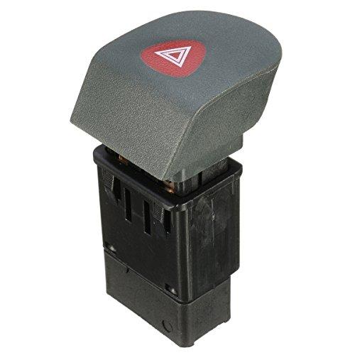 Forspero Botón De Interruptor De Luz De Advertencia De Peligro para Renault Kangoo Express 98-02 7700308821