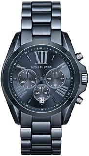 Michael Kors Women's Bradshaw Navy IP Chronograph Watch