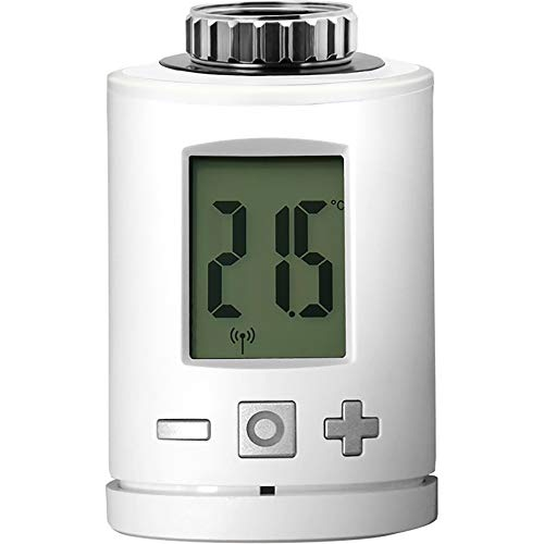 RADEMACHER DuoFern Heizkörperstellantrieb (2. Generation) 9433-1, Funk-Heizkörperthermostat, Smart Home Thermostat Heizung, Weiß