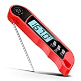 Meat Thermometer, Trofoty Instant Read Digital Meat Thermometer Smart LCD Display Kitchen Cooking