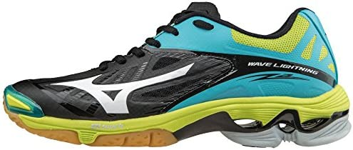 Mizuno Wave Lightning Z2 Women s Volleyball Shoes Black Blue Atoll Women s Size 13 product image