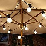Cadenas luminosas para exteriores de jardín, ideal con laminilla LED, 10 luces,...