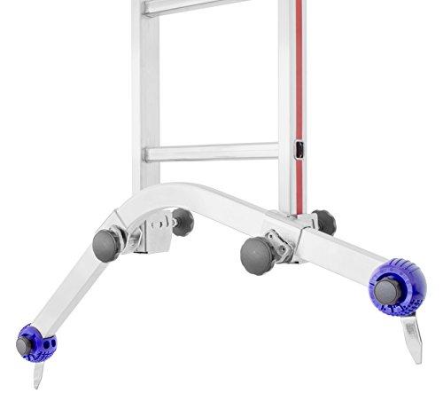 HYMER 0050766 Universal-Traverse für alle gängigen Anlege, Schiebe und Seilzugleitern ohne Klappfuß