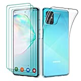 Oududianzi - Cover per Samsung Galaxy A51 Custodia Morbida Chiaro Sottile Case in Silicone Gel...