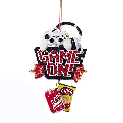 Game On Ornament by Kurt Adler