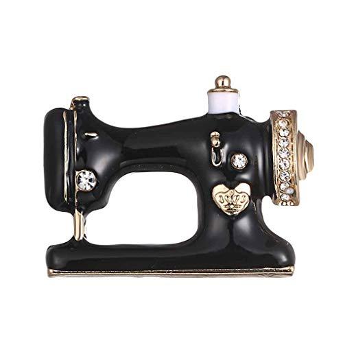 Morza Unico Macchina da Cucire Spilla Donne Pin Spille Smalto Giacca di Jeans Gioielli della Decorazione del Sacchetto Pin Badge Regalo