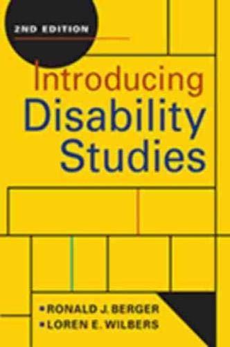 Compare Textbook Prices for Introducing Disability Studies, 2nd ed 2 Edition ISBN 9781626379251 by Berger, Ronald J.,Wilbers, Loren E.