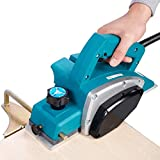 Wood Planer,110V Portable Electric Wood Planer Hand Held Woodworking Power Tool for Home Furniture