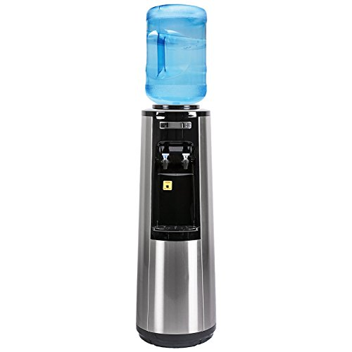 Magic Mountain's Stainless Steel Water Pyramid Series ROOM TEMP and COLD Bottle Water Dispenser