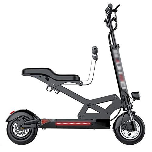 GJZhuan Scooter Mini Eléctrico Bicicleta Eléctrica, 500W De Motor, Batería De Litio...