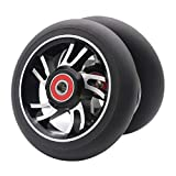 Z-FIRST 2Pcs 110mm Pro Scooter Wheels with...