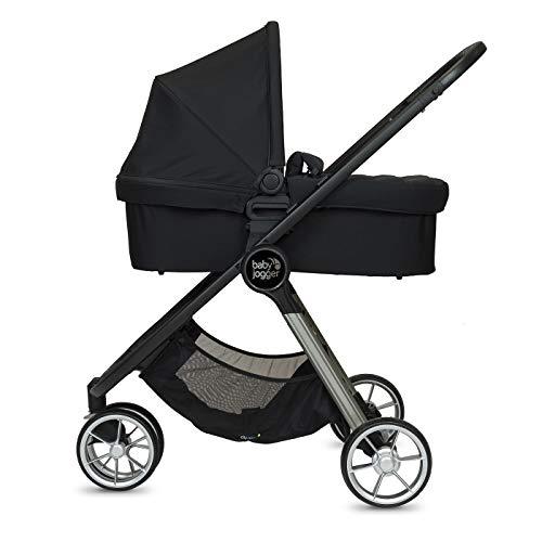 Baby Jogger Duo City Mini2 3 ruedas Jet – Cochecito + capazo – 18600 g