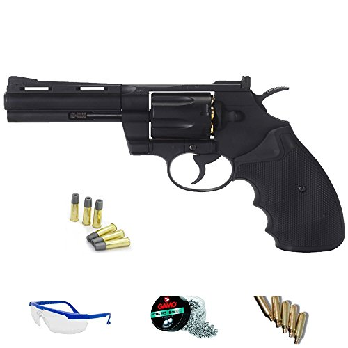 Pack revólver de Aire comprimido KWC Model 357 4,5