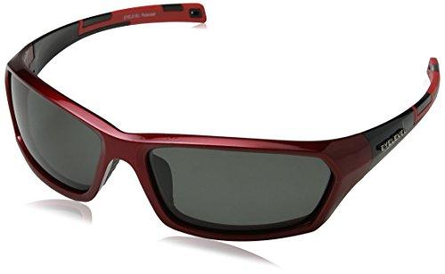 Eyelevel Shark Gafas de sol, Rojo (Red/black/Grey Polarized), 70 para Hombre