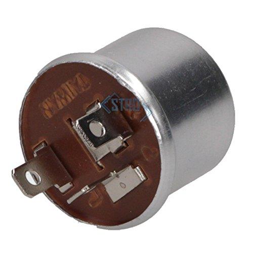 Universal Blinkgeber Blinkrelais mechanisch 12V 3-polig 1-2 x 21 Watt