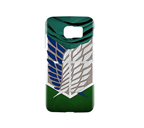Attack on Titan Survey Corps Cloak Snap on Plastic Case Cover Compatible with Samsung Galaxy S6 GS6