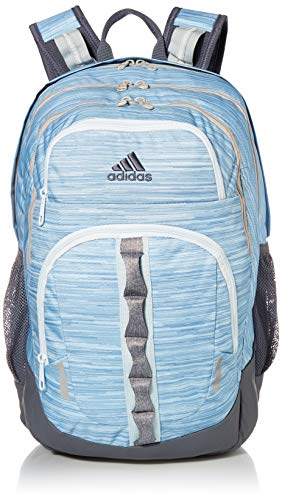 adidas Unisex Prime Backpack, Sky Tint Looper/ Sky Tint/ Onix/ Grey Two/ Heather Gre, ONE...