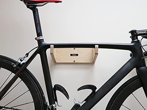 Huxlo Bike Wall Mount Wood Rack Shelf | MAURAD