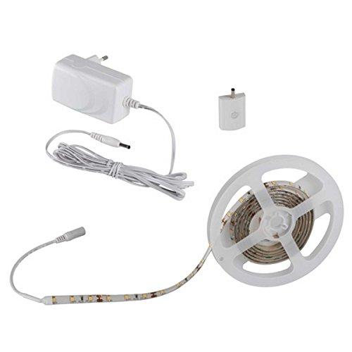 Preisvergleich Produktbild 1, 5m LED Stripe Set dimmbar mit SMART Schalter - Stripes Lichterkette Band Streifen Leiste Lichtleiste Bänder