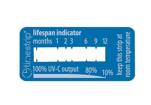 Lebensdauer Tester Indikator für UV-C-Lampen