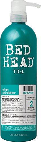 TIGI Bed Head Urban Anti+Dotes Recovery Shampoo, Damage Level 2, 25.36 oz (Pack of 5)