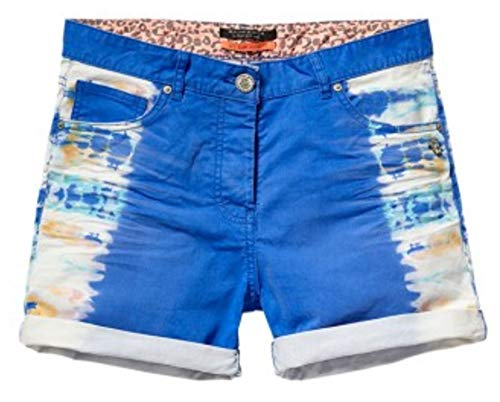 Maison Scotch Dames Short Hotpen Jeansshort Bermuda Jeans Dipped Dyed