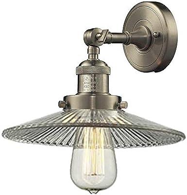 Innovations Lighting 203-SN-G2 1 Light Sconce, Brushed Satin Nickel