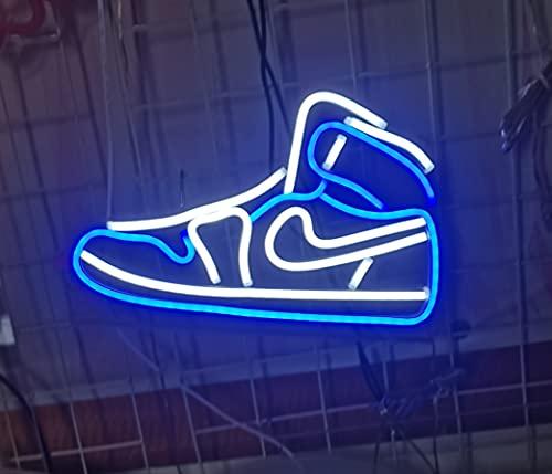 Nwanfeng 13 en Azul Air Boot Zapatillas de Deporte Zapato Letrero neón...