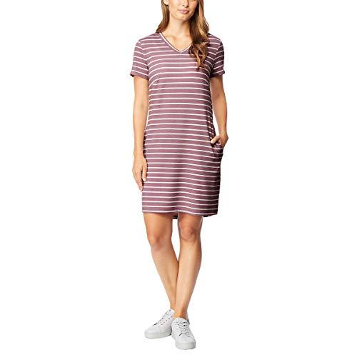 32 DEGREES Ladies' Short Sleeve Dress (S, Pink)
