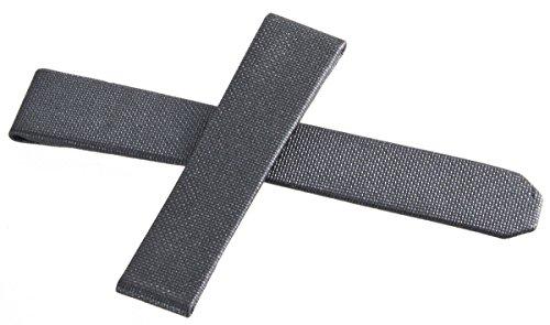 Tag Heuer grigio scuro tessuto del cinturino dell' orologio 17mm