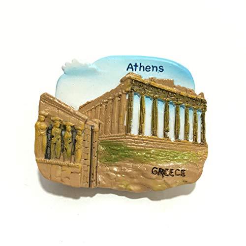 Bella Magneti per FrigoriferoCalamite da Frigo in Resina Viaggio Souvenir del Modo Europa Atene Parthenon Temple Tempio del Partenone Grecia Fridge Magnet Sticker