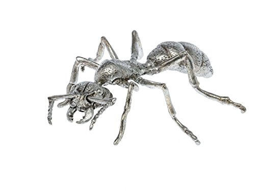 Zinnfigur in Form Einer Ameise Figur Skulptur Silber Insekt Zinn Sculpture ant
