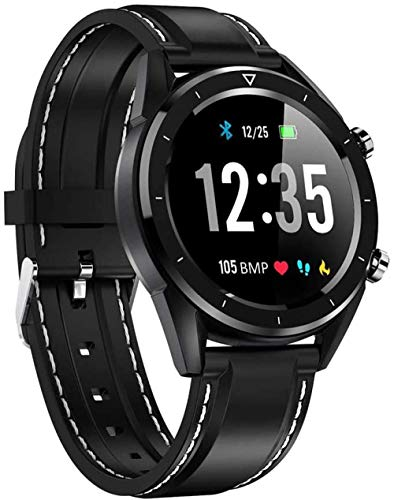 hwbq Smartwatch, 3,8 cm (1,54 Zoll), Farbbildschirm, Multi-Sport-Modus, kompatibel mit iOS- und Android-Systemen Watch-B
