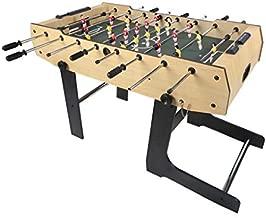 Fran_store 48 inch Folding Soccer Foosball Table