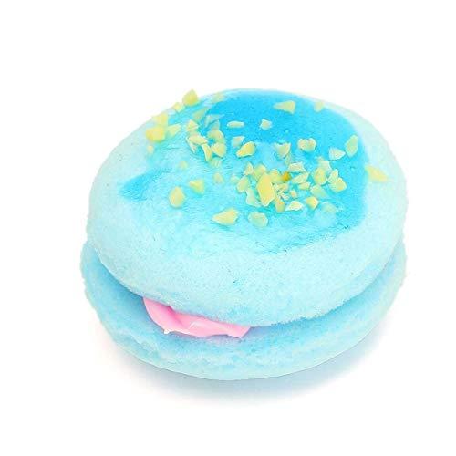 Fashion Shop Mini Artificial Simulieren Macaron Kuchen Spielzeug-Fälschungs-Brot Props Ornament Druck-Helfer-Kette Telefon Hanging Keychain 1pc Küchenspielzeug