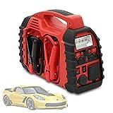 Gettop 12V 20000mAh Arrancador de Baterias de Coche Portátil | 5V / 2.1A Arrancador y Batería de Emergencia | Multifuncional y Conveniente Arrancador de Batería de Coche | USB + Linterna LED