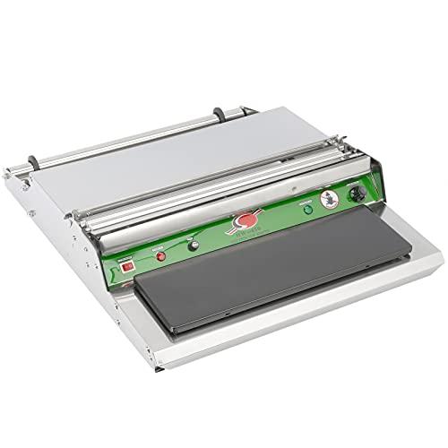 PrimeMatik - Máquina de envasado de Comida con Superficie térmica para Bobina de Film de plástico de 450 mm